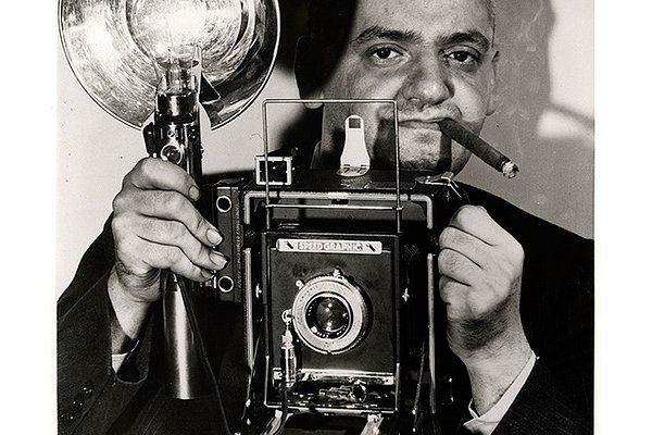 La Graflex Speed Graphic de Weegee
